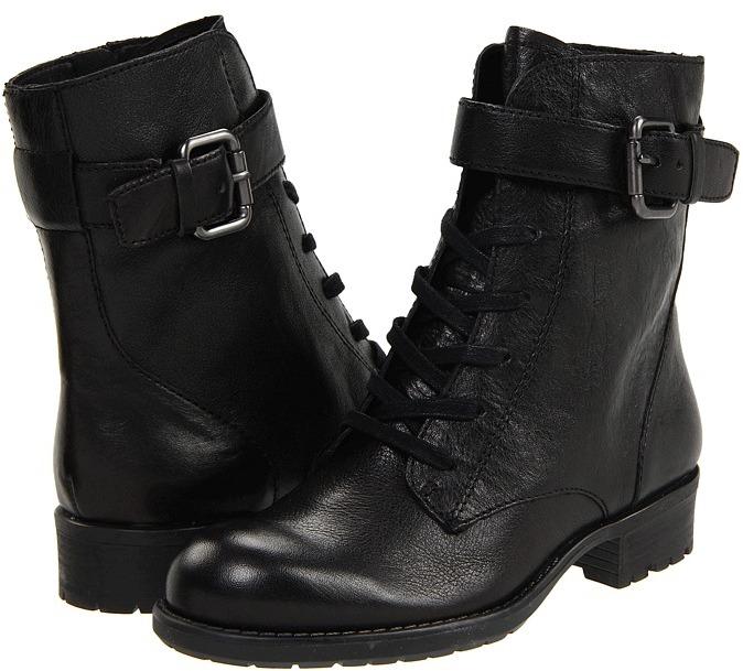 Franco Sarto Priam (Black Calf) - Footwear