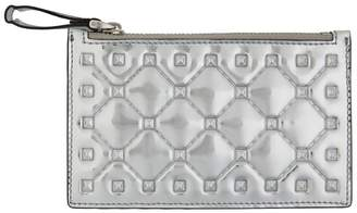 Valentino Rockstud Spike Coin Purse and Card Holder