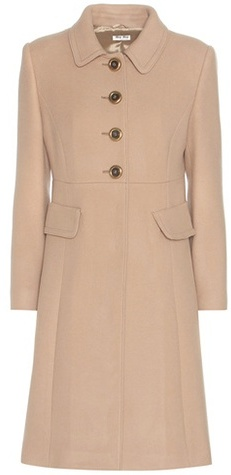 Miu Miu Miu Miu Virgin Wool Coat