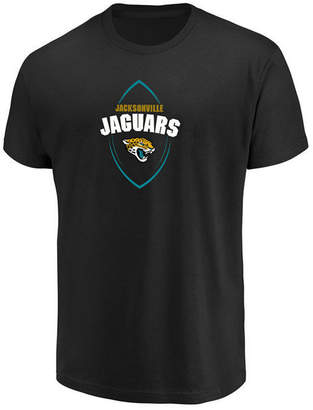 Authentic Nfl Apparel Men's Jacksonville Jaguars Maximized T-Shirt