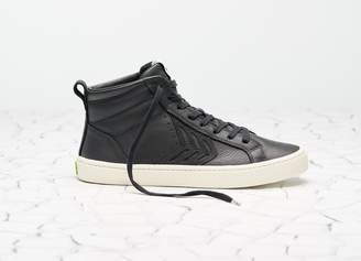 Cariuma CATIBA High Black Premium Leather Sneaker Women