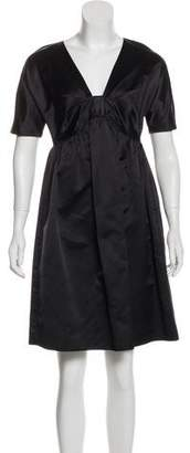 Prada Silk Knee-Length Dress