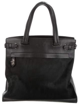 Reed Krakoff Ponyhair & Leather Boxer Bag Olive Ponyhair & Leather Boxer Bag