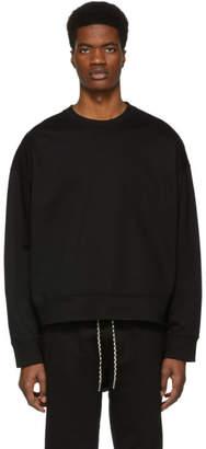 Jil Sander Black Crewneck Sweater