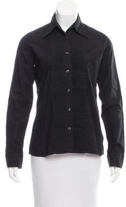 Maison Margiela Long Sleeve Button-Up Top