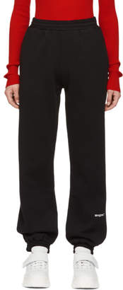 MSGM Black Lounge Pants