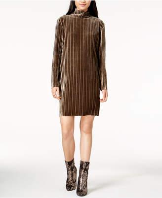 MinkPink Ribbed Velvet Dress