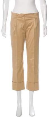 Louis Vuitton Cropped High-Rise Pants