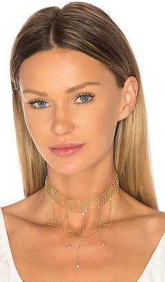 Ettika Multi Chain Crystal Choker in Metallic Gold. $55 thestylecure.com