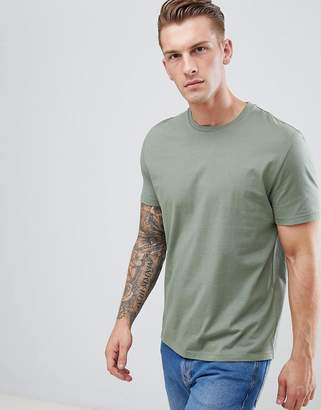 Asos Design DESIGN relaxed fit t-shirt in green