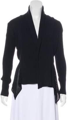 Akris Punto Asymmetrical Knit Cardigan