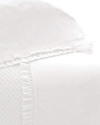 Pine Cone Hill Twin 200 Thread-Count Classic Ruffle Sheet Set