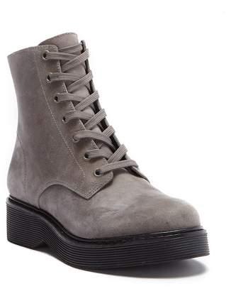 Vince Monastir Leather Combat Boot