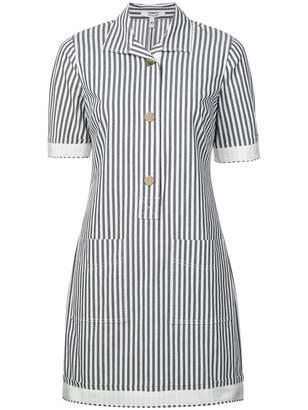 Derek Lam 10 Crosby Short Sleeve Utility Shirt Dress