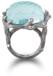 Michael Aram Enchanted Forest Turquoise & Diamond Ring