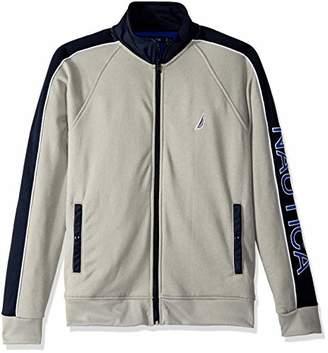 Nautica Men's Full Zip Track Jacket Sweatshirt