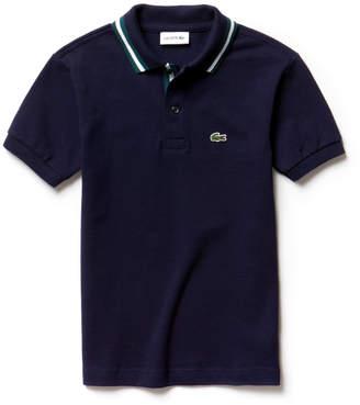 Lacoste (ラコステ) - ボーイズラインドカラーポロシャツ