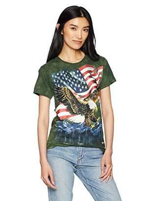 The Mountain Eagle Talon Flag Adult Woman's T-Shirt