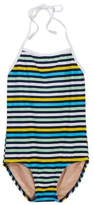 Toobydoo Santa Monica II Striped One-Piece Swimsuit (Toddler, Little Girls, & Big Girls)