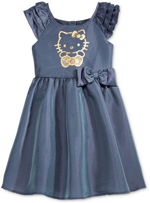 Hello Kitty Metallic-Print Party Dress, Toddler Girls (2T-5T) & Little Girls (2-6X) $44 thestylecure.com