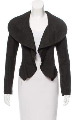 Yigal Azrouel Long Sleeve Open Front Jacket