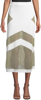 Tabula Rasa Sankore High-Waist Knit Midi Skirt