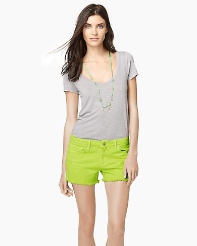 5 Pocket Neon Short