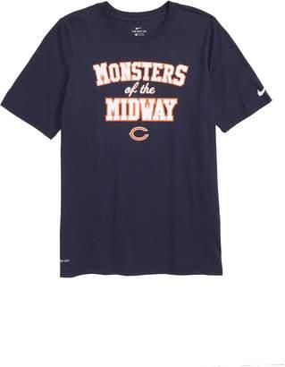 Nike Dry Hyperlocal NFL Chicago Bears T-Shirt