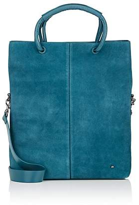 Halston WOMEN'S LARGE SUEDE TOTE BAG