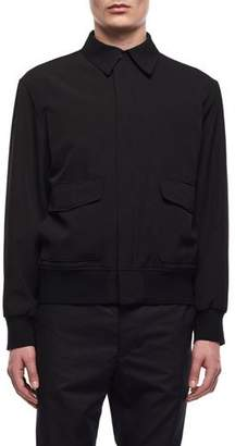 The Row Men's Wes Zip-Front Wool Jacket