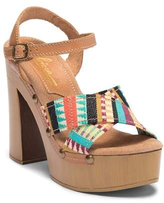 Sbicca Abriana Platform Heel Sandal