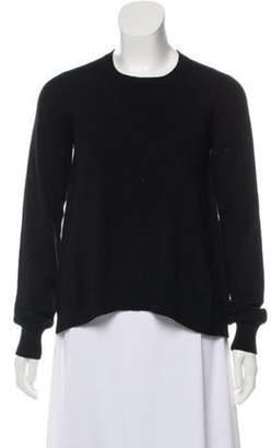 Marni Cashmere Crew Neck Sweater Black Cashmere Crew Neck Sweater
