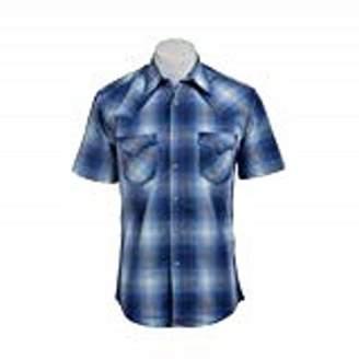 Wrangler Men's 20X Collection Short Sleeve Snaps Shirt