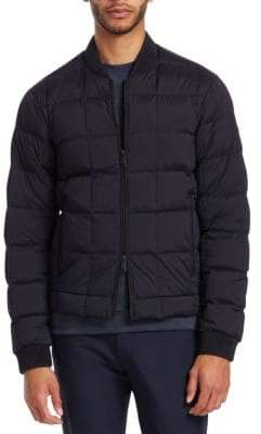 Emporio Armani Stretch Quilted Bomber Jacket