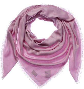 Gucci Gg Jacquard Silk & Wool-Blend Scarf