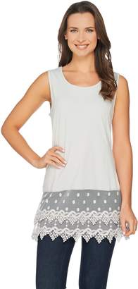 Kathleen Kirkwood Layering Tank with Lace Extender