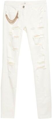 Elisabetta Franchi Denim pants - Item 42633575JD
