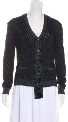 Lanvin Knit Long Sleeve Cardigan