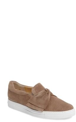 Women's Paul Green Micky Bow Slip-On Sneaker $299 thestylecure.com