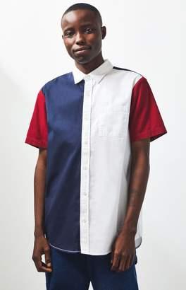 PacSun Upper East Short Sleeve Button Up Shirt