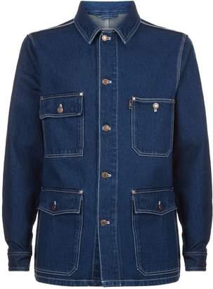 Ami Paris Worker Denim Jacket