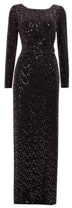 Wallis Rose Gold Shimmer Maxi Dress