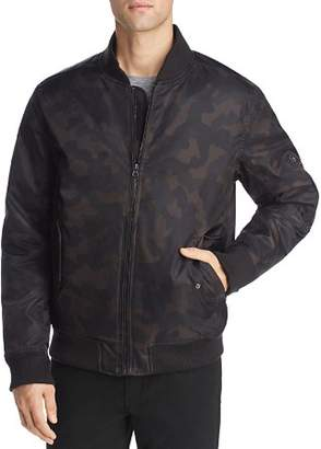 Pacific & Park Camouflage-Print Bomber Puffer Jacket- 100% Exclusive