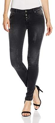 Fornarina Women's BIR1I86D862 Skinny Jeans - Black - W29/L31