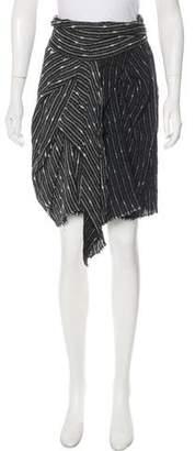 Isabel Marant Knit Knee-Length Skirt