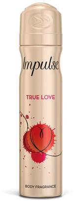 Impulse True Love Body Spray Deodorant 75ml