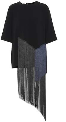 Stella McCartney Fringed T-shirt
