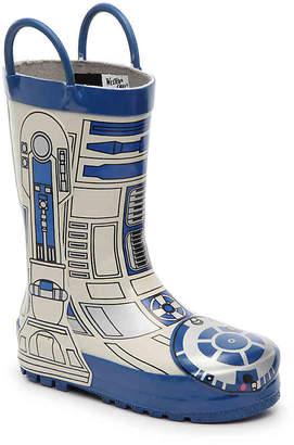 Western Chief Stars Wars R2D2 Toddler & Youth Rain Boot - Boy's