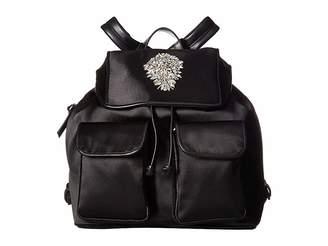 Badgley Mischka Gamma Satin Nylon Backpack Backpack Bags