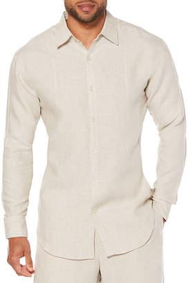 Cubavera Long Sleeve Button-Front Shirt